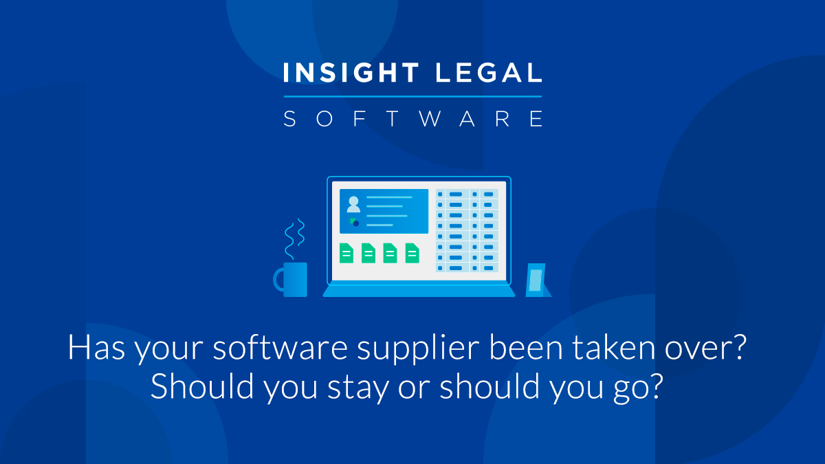 Has your software supplier been taken over? Should you stay or should you go?